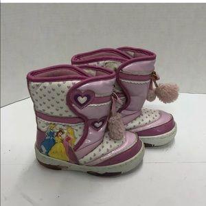 Disney Princess Boots Sz 11 Toddler Light Up Heel